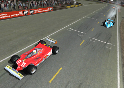 Fulvio snatches 4th from a 3-wheeled Georg with David just behind.